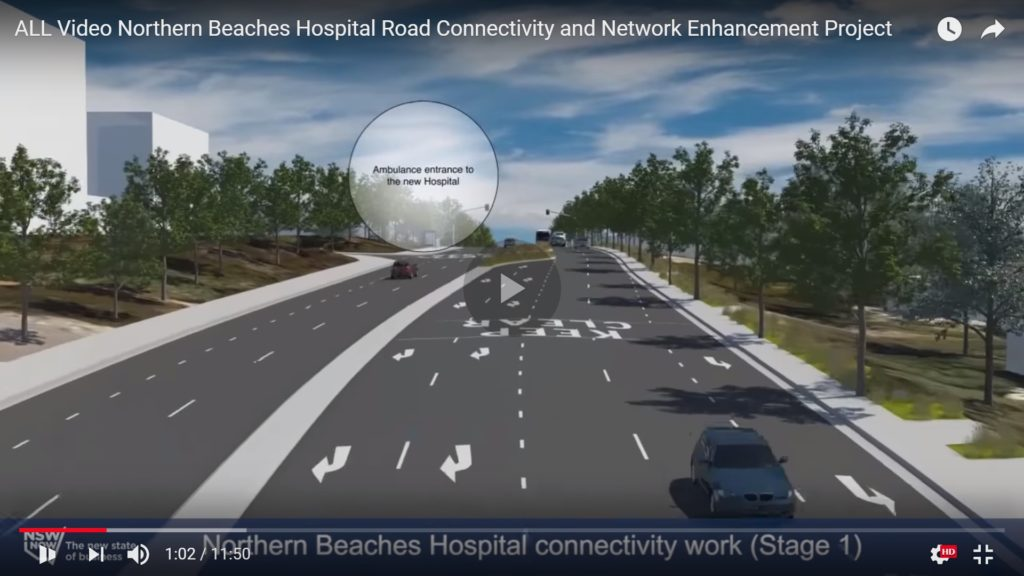 Frenchs Forest Hospital Roads Connectivity
